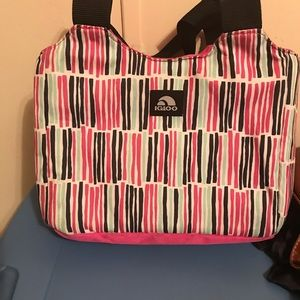 Other - Igloo lunch bag pink striped